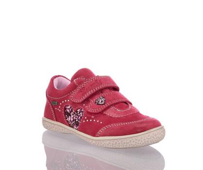 Lurchi Lurchi Tany scarpe con chiusure velcro bambina rosa intenso