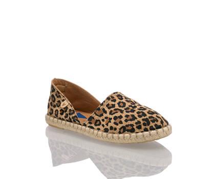 Verbenas Verbenas Carmen Damen Espadrille Leopard