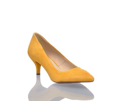 Varese Varese Anina Damen Pumps gelb