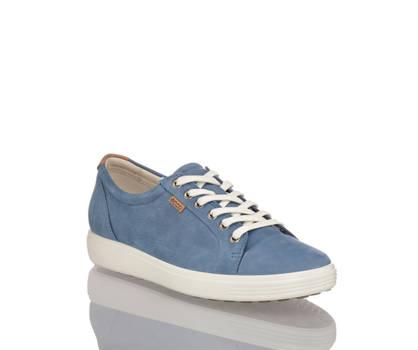 Ecco Ecco Soft 7 calzature da allacciare donna blu navy