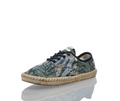 Pepe Jeans Pepe Jeans Tourister Print espadrille hommes multicolore