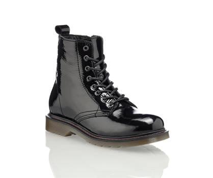 Oxmox Oxmox Filipina boot à lacet femmes noir