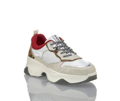 Oxmox Oxmox Damen Sneaker Weiss