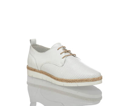 Varese Varese Emma calzature da allacciare donna bianco