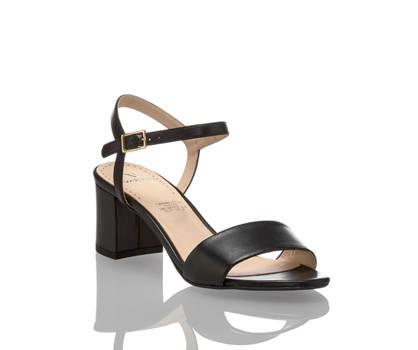 Varese Varese Sofia sandalette haute femmes noir