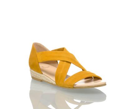 Varese Varese Luisa sandalette plate femmes jaune