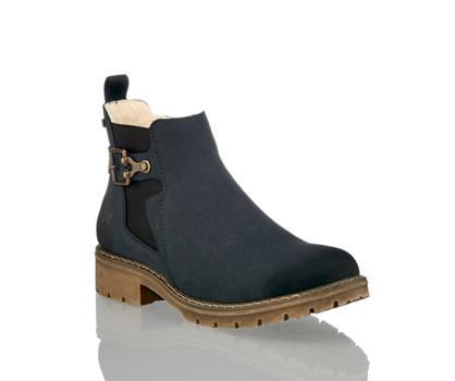 Rieker Rieker Damen Boot Navyblau