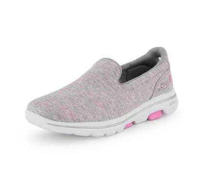 Skechers Skechers Go Walk Evolution Ultra Damen Slipper Grau