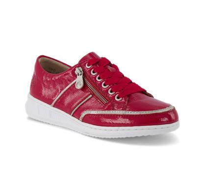 Rieker Rieker chaussure à lacet femmes rouge