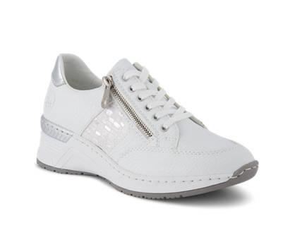 Rieker Rieker chaussure à lacet femmes blanc