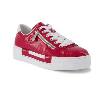 Rieker Rieker calzature da allacciare donna rosso