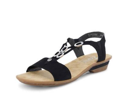Rieker Rieker sandaletto donna nero