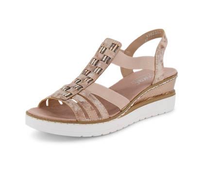 Rieker Rieker sandalette haute femmes rose