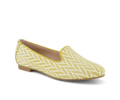 Varese Varese Damen Loafer Gelb