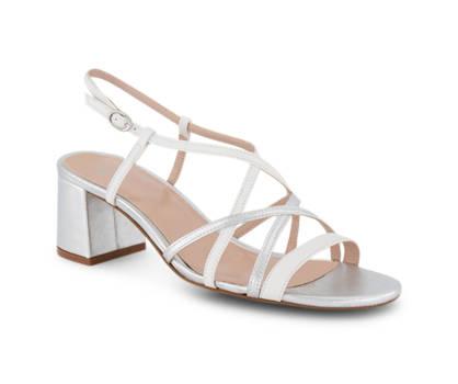 Varese Varese Braga sandaletto alto donna argento