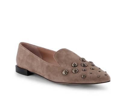Varese Varese Damen Loafer Taupe