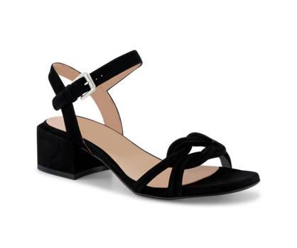 Varese Varese sandalette haute femmes noir