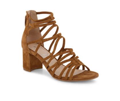 Varese Varese sandaletto alto donna cognac