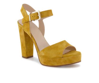 Varese Varese sandalette haute femmes jaune