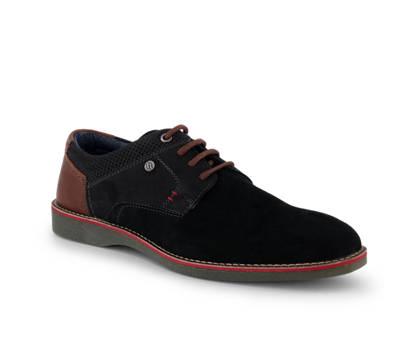 Varese Varese James calzature da allacciare uomo nero