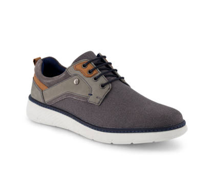 Varese Varese Dexter chaussure à lacets hommes gris