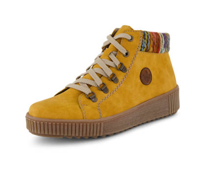 Rieker Rieker boot à lacet femmes jaune