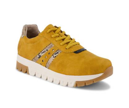 Rieker Rieker chaussure à lacets femmes jaune