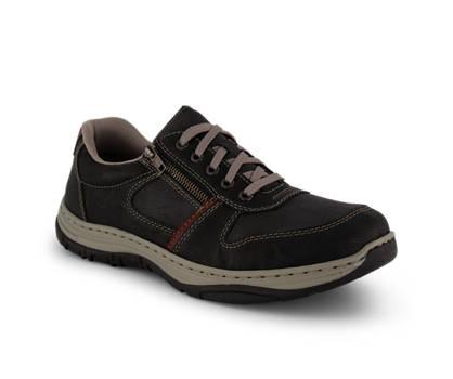 Rieker Rieker chaussure à lacets hommes noir