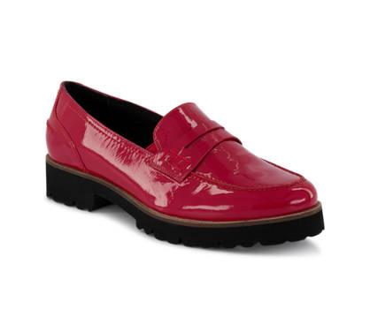 Varese Varese Gracy Damen Loafer Rot