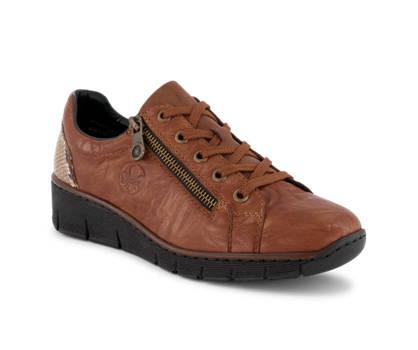 Rieker Rieker calzature da allacciare donna cognac