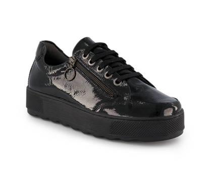 Varese Piu Varese Più Lebab calzature da allacciare donna nero