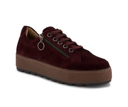 Varese Piu Varese Più Lebab chaussure à lacets femmes rouge