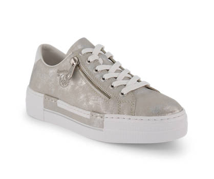 Rieker Rieker sneaker donna argento