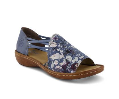 Rieker Rieker sandalette haute femmes bleu