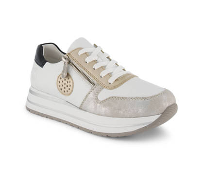 Rieker Rieker sneaker donna bianco