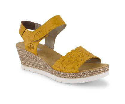 Rieker Rieker sandaletto alto donna giallo