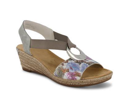 Rieker Rieker sandalette haute femmes gris