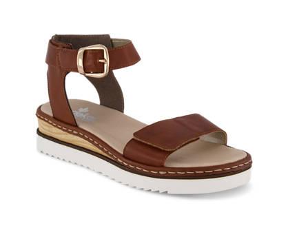 Rieker Rieker sandaletto alto donna cognac