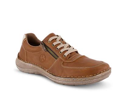 Rieker Rieker calzature da allacciare uomo cognac