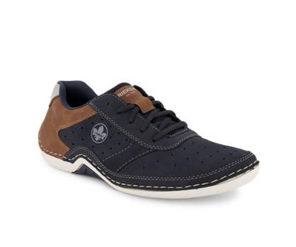 Rieker Rieker calzature da allacciare uomo blu