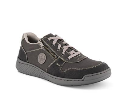 Rieker Rieker chaussure à lacets hommes gris