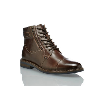 AM Shoe AM Shoe Cliff boot da allacciare uomo marrone