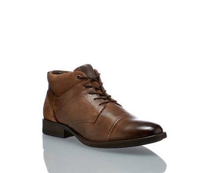 AM Shoe AM Shoe Fox H Herren Schnürboot Braun