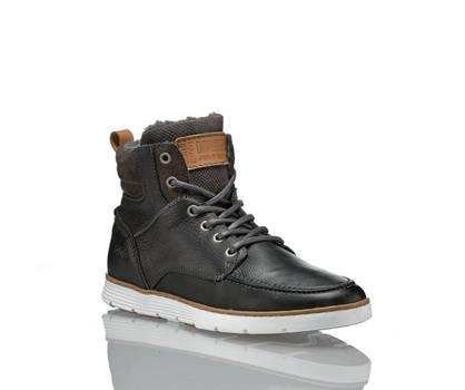 AM Shoe AM Shoe Herren Schnürschuh Schwarz