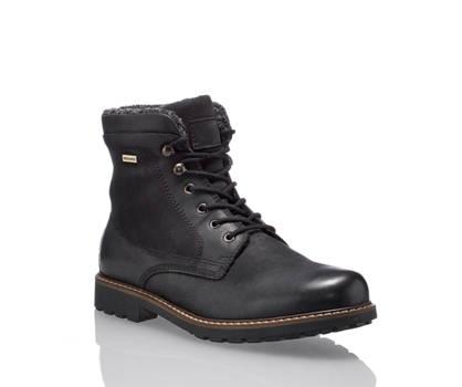 AM Shoe AM Shoe Pisco Herren Schnürboot Schwarz