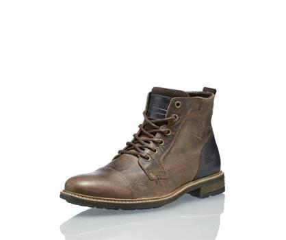 AM Shoe AM Shoe boot da allacciare uomo marrone