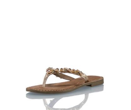 Lazamani Amani sandalette plate femmes