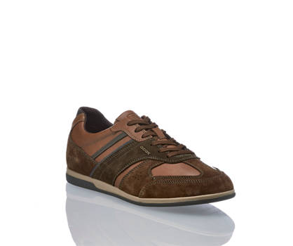 Geox Geox Renan chaussure à lacet hommes brun