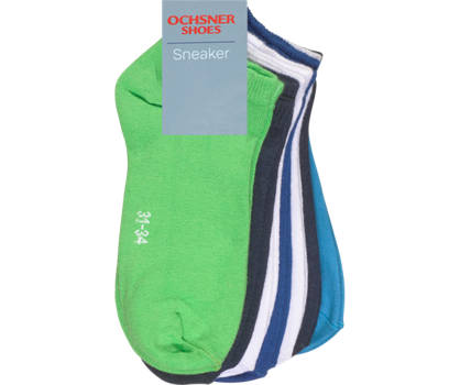 Ochsner Shoes Ochsner Shoes  7 Pairs chaussettes enfants 27-30; 31-34; 35-38