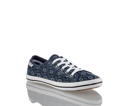Pepe Jeans Pepe Jeans Grey Anglaise chaussure à lacet femmes
